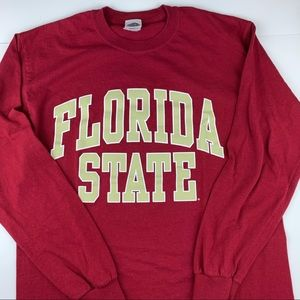 Florida State University FSU long sleeve T, Med.